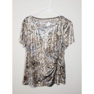 NWT Dressbarn Evening Blouse Size 1X